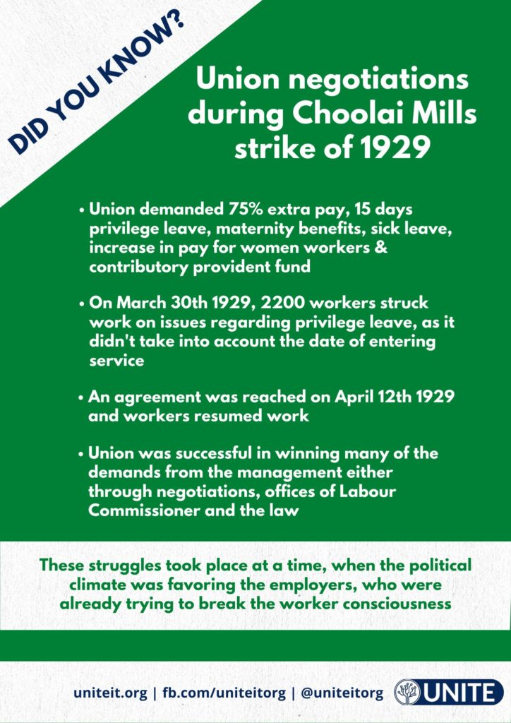 what a Worker UNION achieved in 1929 - 04/09/2020