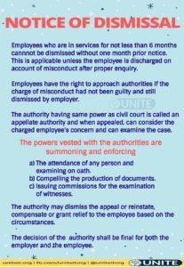 How to challenge dismissal - 08/09/2020