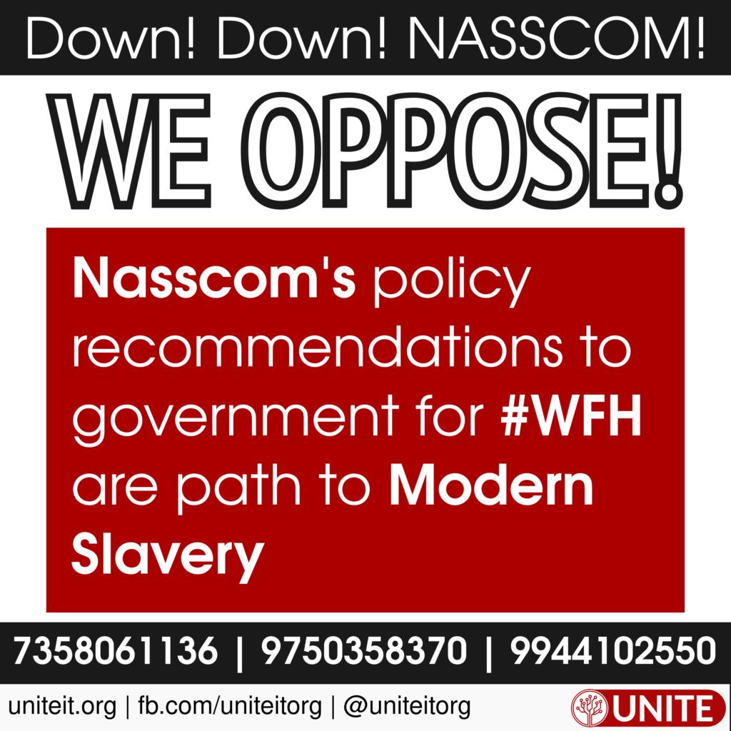 UNITE against NASSCOM