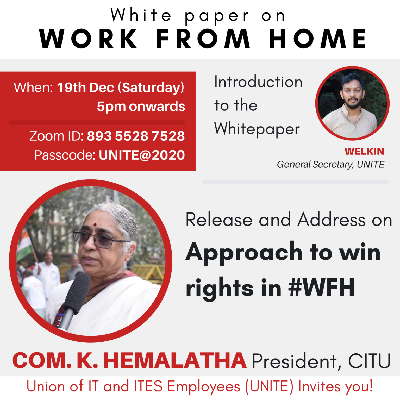 WFH Whitepaper Release