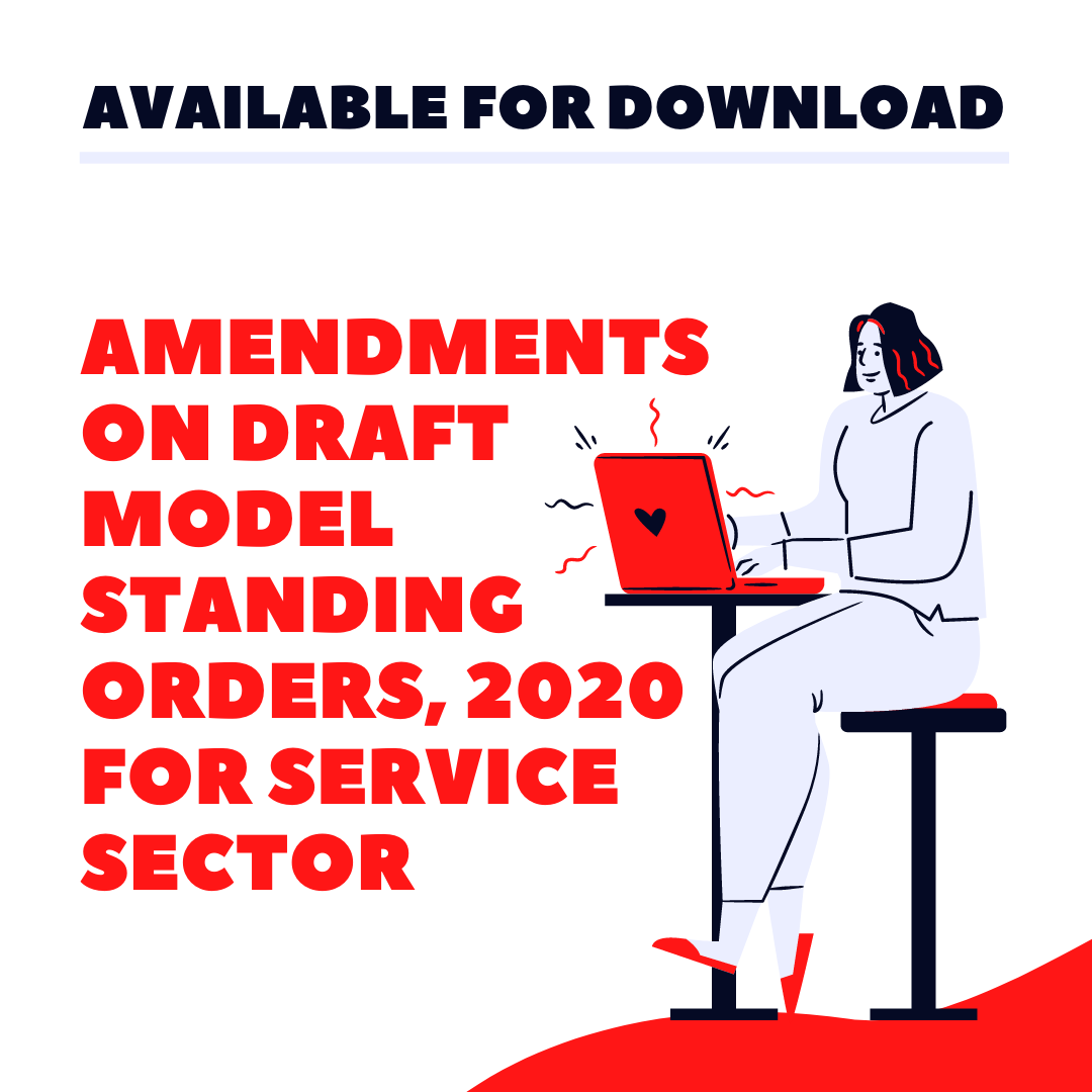 UNITE's Amendments on Draft Model Standing Orders for Service Sector 2020